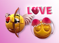 Smiley Love 3D