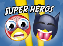Smiley Super Heros