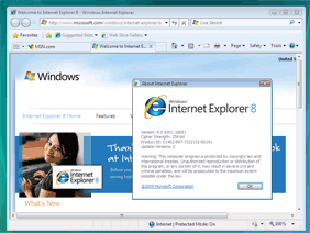 Internet Explorer 8 (XP)