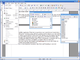 T l charger openoffice - Open office writer telecharger ...
